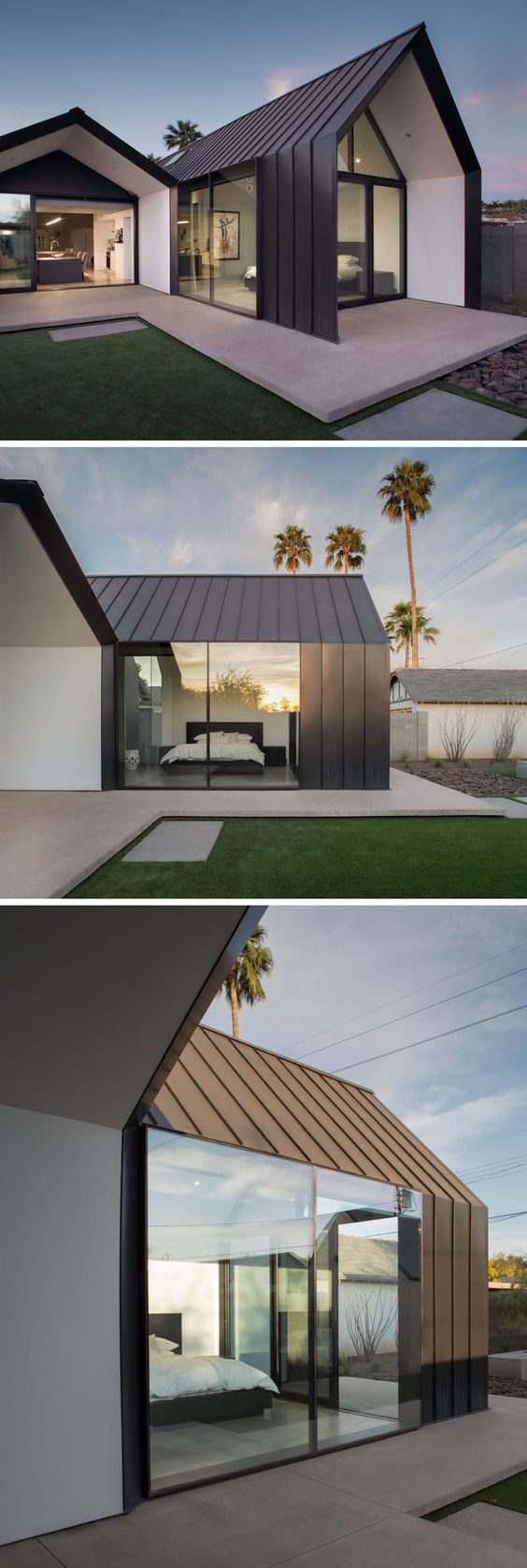 A contemporary update and extension for a 1930s home in Phoenix ...
