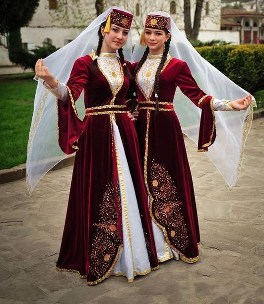 Tatar national costume.Татарский национальный костюм (51 фото)  женские,  детские, 4f86c8bf8cc
