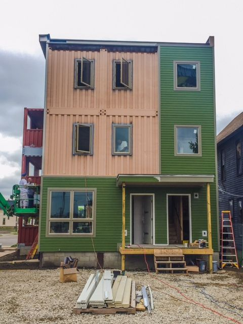 Open House Offers Sneak Peek At New Shipping Container Condos