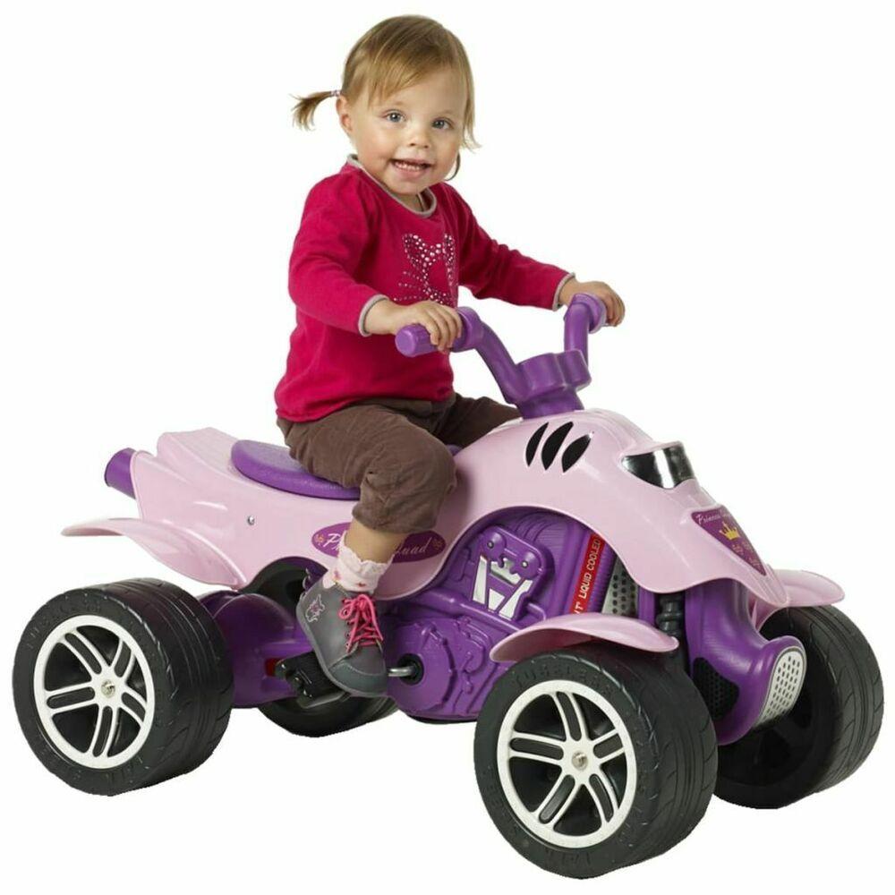 FALK Moto quad princesse en rose pour enfants filles de 3 à 7 ans 30 kg   Moto quad, Quad