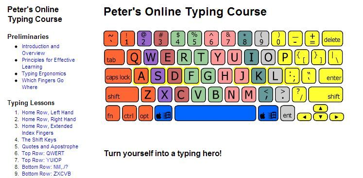 Whoops Typing Lessons Online Typing Keyboarding