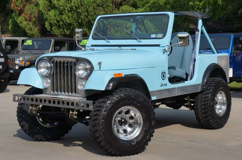 Experience The Open Air Concept Doors Off Top Off Only In A Jeep Robin Egg Blue 1983 Cj7 Jeep Cj Jeep Vintage Jeep