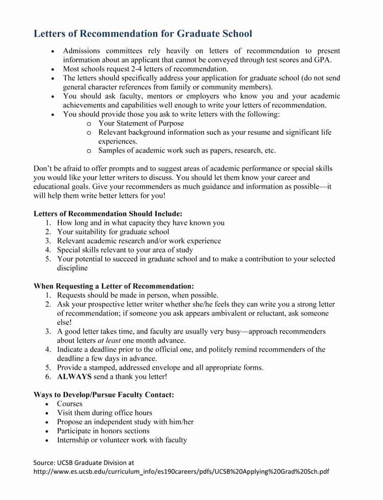Letter for Masters Program Lovely Graduate