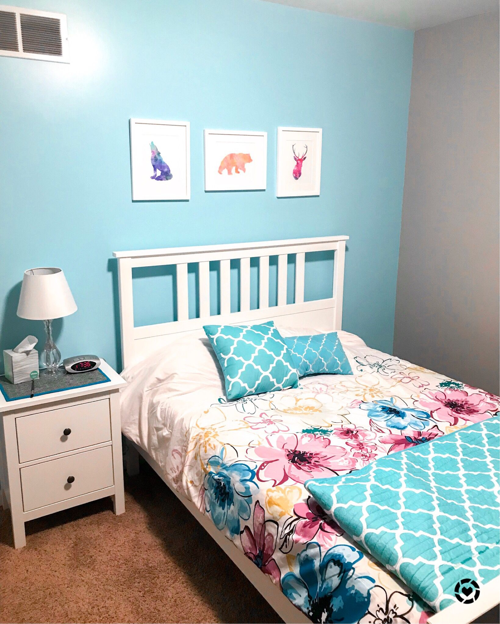 Baby girl's bedroom is all redone, and I'm in love