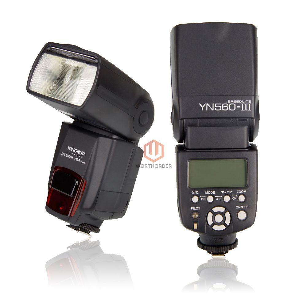Yongnuo Yn 560 Iii Wireless Speedlite Flash For Nikon Canon Camera 560iii Speedlight Free Ship