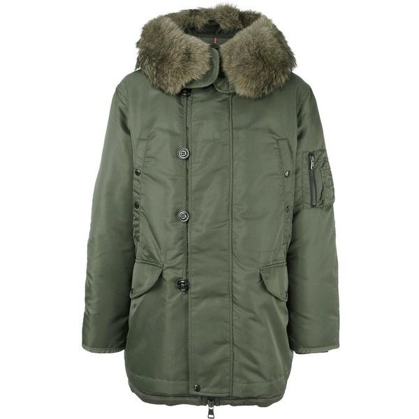 Moncler  Ronier  parka coat found on Polyvore featuring polyvore ... fc522c01d