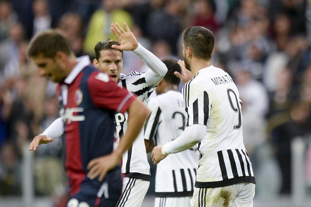 Juventus-Bologna, il film della partita