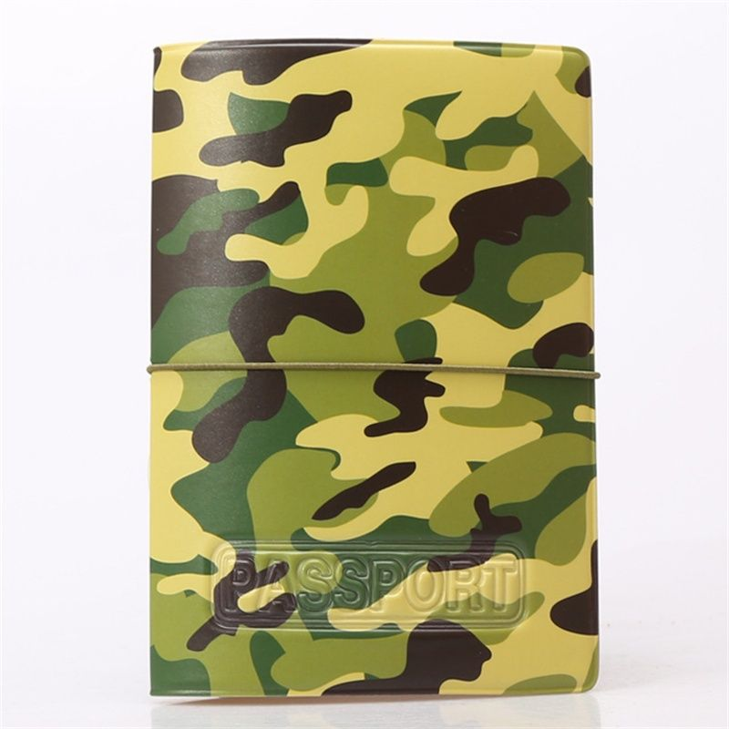 2017 New Camouflage Passport Cover ID Credit Card Holder 3D Design ...