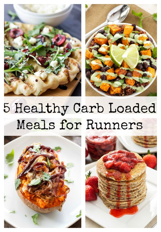 5 Healthy Carb Loaded Meals for Runners | Carb rich meals to power