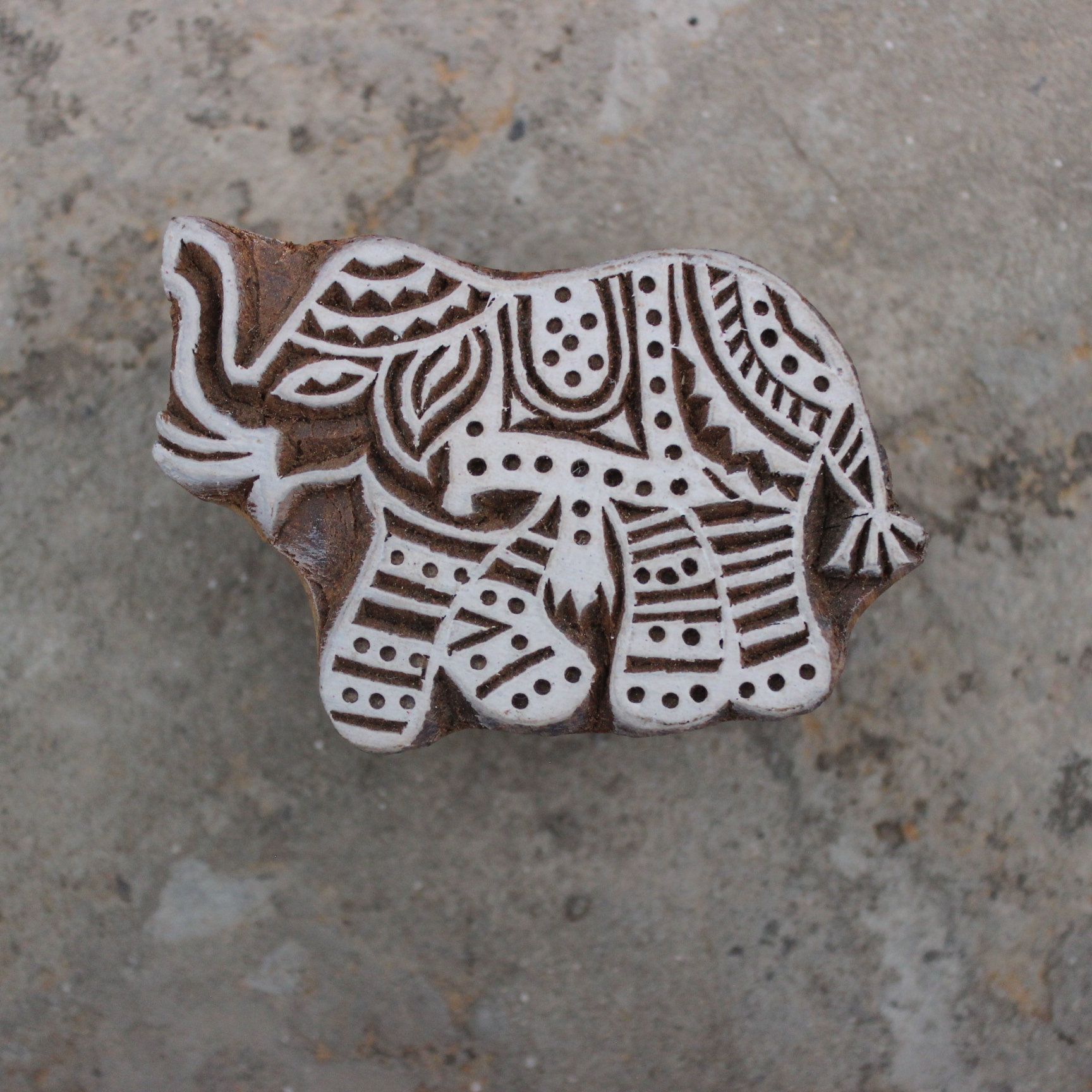 Elephant Fabric Stamp Carve Block Block Print Stamp Animal Block Print Stamp Indian Wooden Stamp For Printing Kids Craft Soap Stamp Wedding #fabricstamping