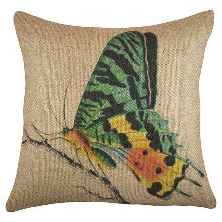 Butterfly Pillow.