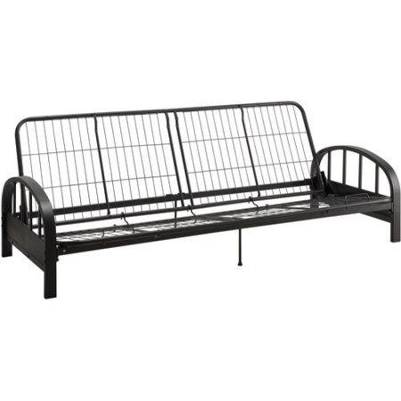 dhp aiden metal futon frame multiple colors black dhp aiden metal futon frame multiple colors black   metal futon      rh   pinterest
