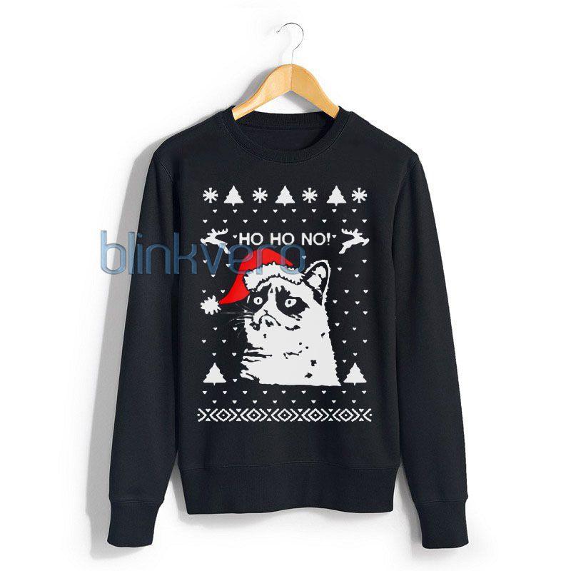 grumpy cat christmas sweater t shirt 20