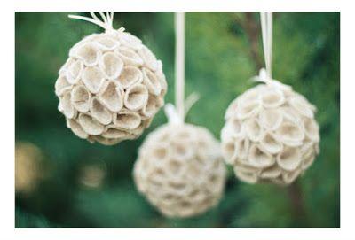 Haz un adorno para árbol de navidad con cintas de raso ~ Solountip.com
