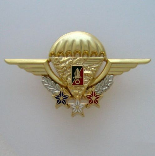 FRENCH FOREIGN LEGION ETRANGERE 2REP NUMBERED HIGH-ALTITUDE PARACHUTE INSTRUCTOR