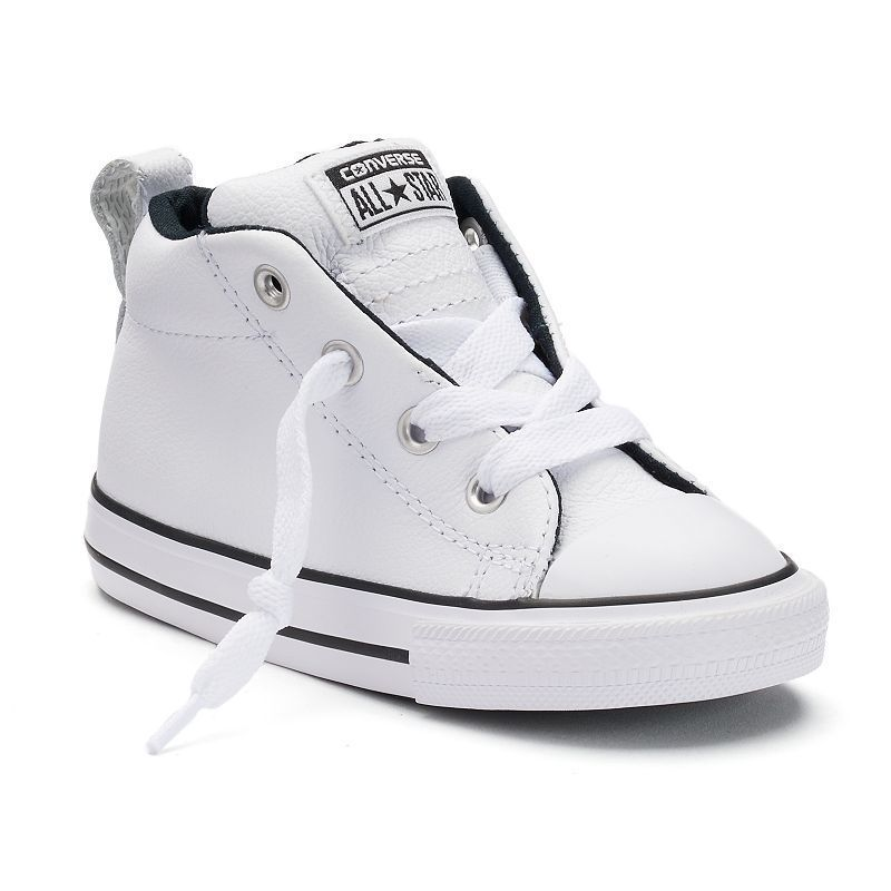 0afc566f2f86 Toddlers Converse Chuck Taylor All Star Street Mid Leather Sneakers ...