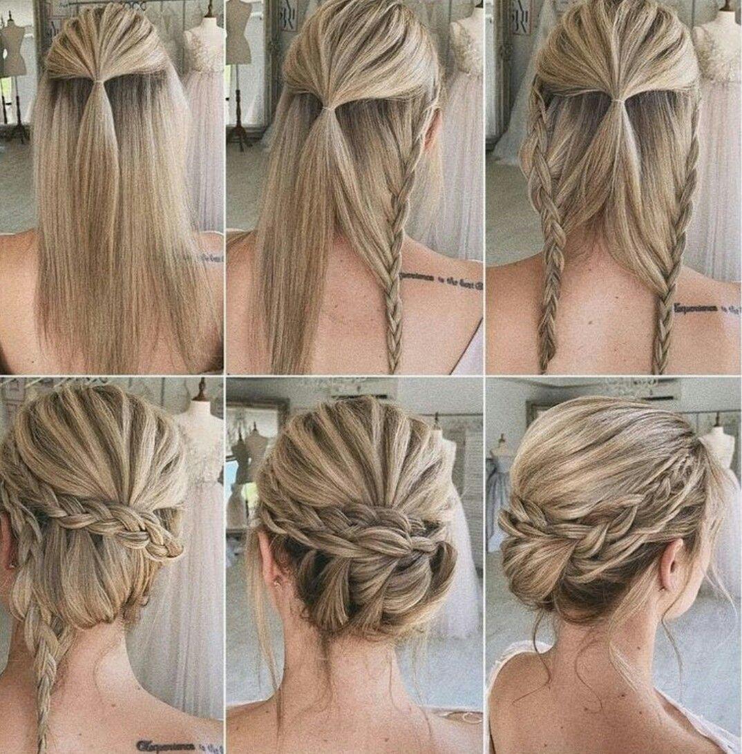 Best Hairstyles For Beatiful Women Beatiful Hairstyles Lindos Peinados De Boda Women In 2020 Diy Wedding Hair Diy Hairstyles Hair Styles