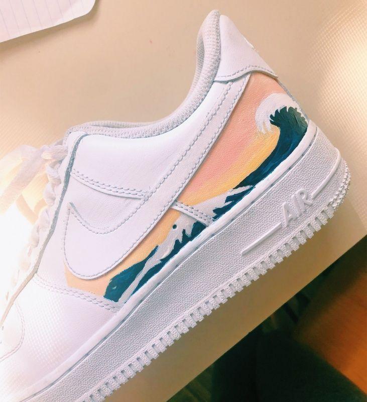 Pin by keira jackson on shoes | Custom nike shoes, Cute