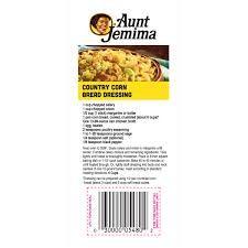 Image Result For Aunt Jemima Cornbread Dressing Recipe On Bag Dressing Recipes Cornbread Cornbread Dressing Aunt Jemima Cornbread Dressing Recipe