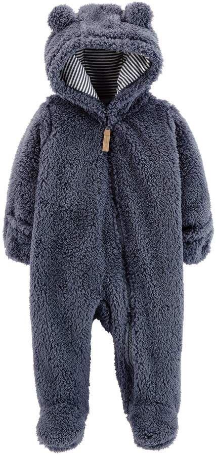 ebf3945c1 Baby Boy Carter's Sherpa Bunting Pram | Products | Carters baby boys ...