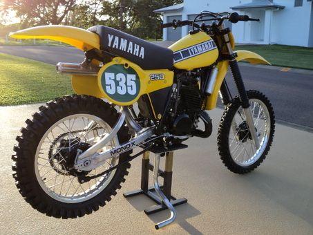 1980 Yamaha 250cc Yz250 Vintage Motocross Yamaha Dirt Bikes