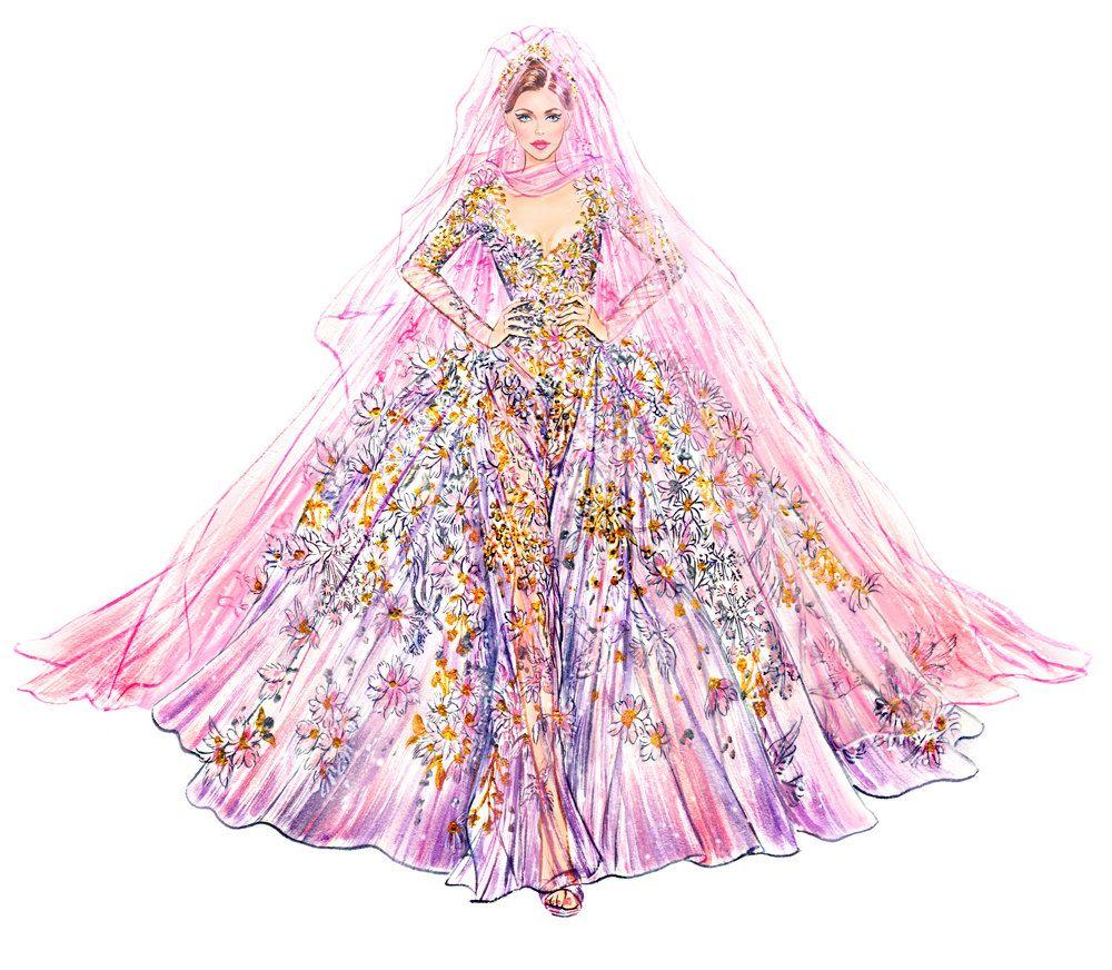 Кокетливые и изящные цветочные фэнш иллюстрации Sunny Gu   арты ...