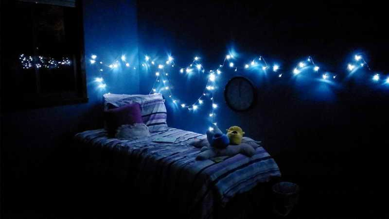 Led Christmas Lights For Room.Beautiful Diy Room Decorations Fill The Empty Spaces