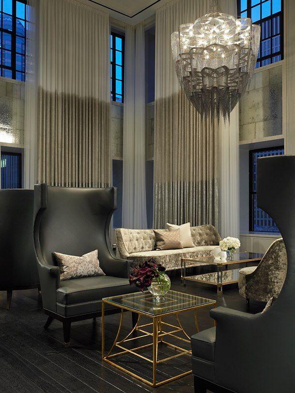 Alchemy Border Contemporary Living Room Lounge Design Interior Design