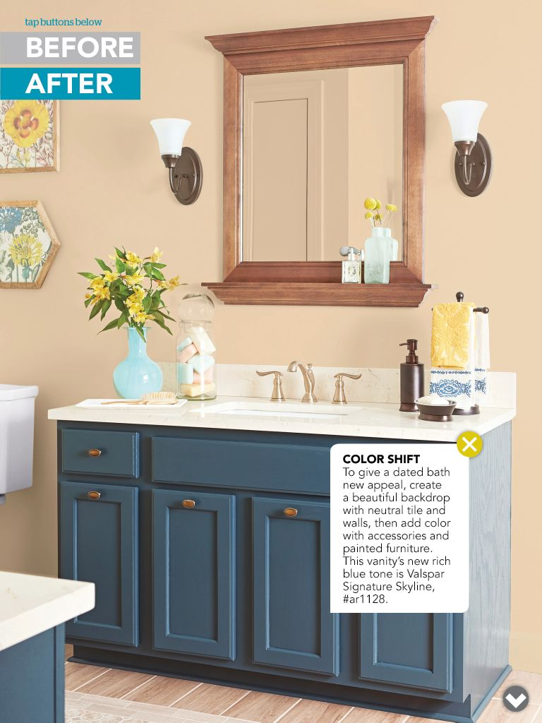 Paint bathroom vanity craft ideas pinterest paint for Bathroom designs paint