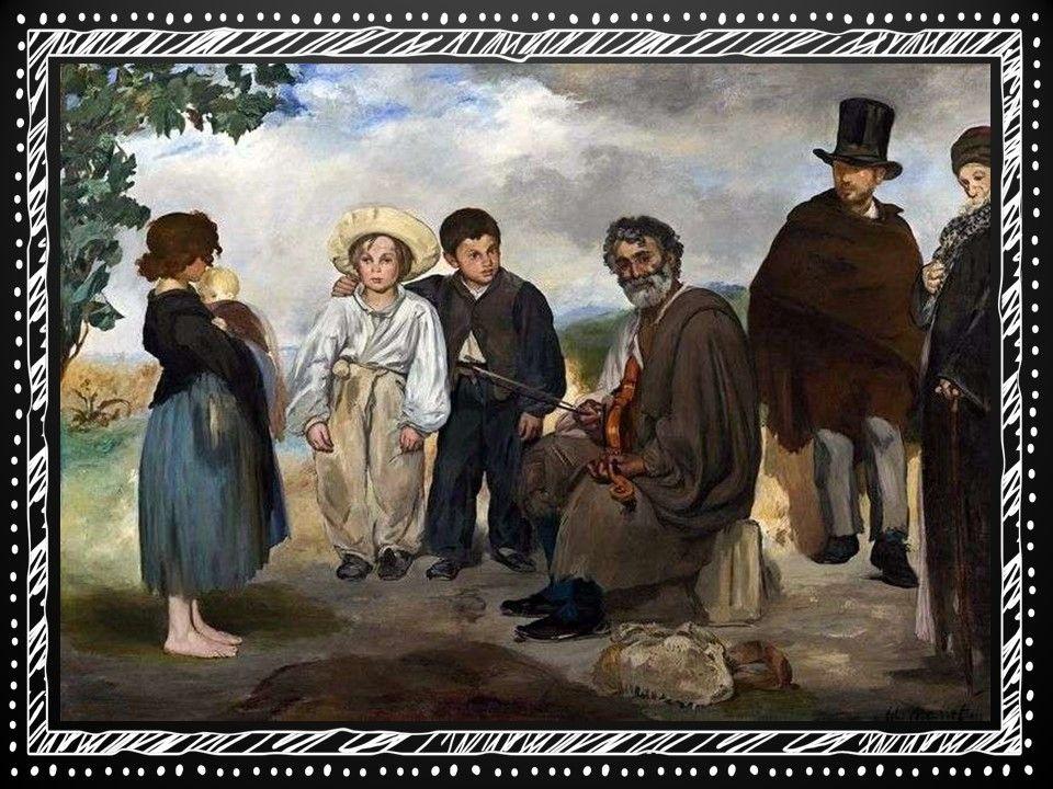 """Это картина Эдуарда Мане """"Старый музыкант"""", как по мне, так с Караваджо у него гораздо больше общего, чем с """"коллегой по цеху"""" Клодом Моне."""