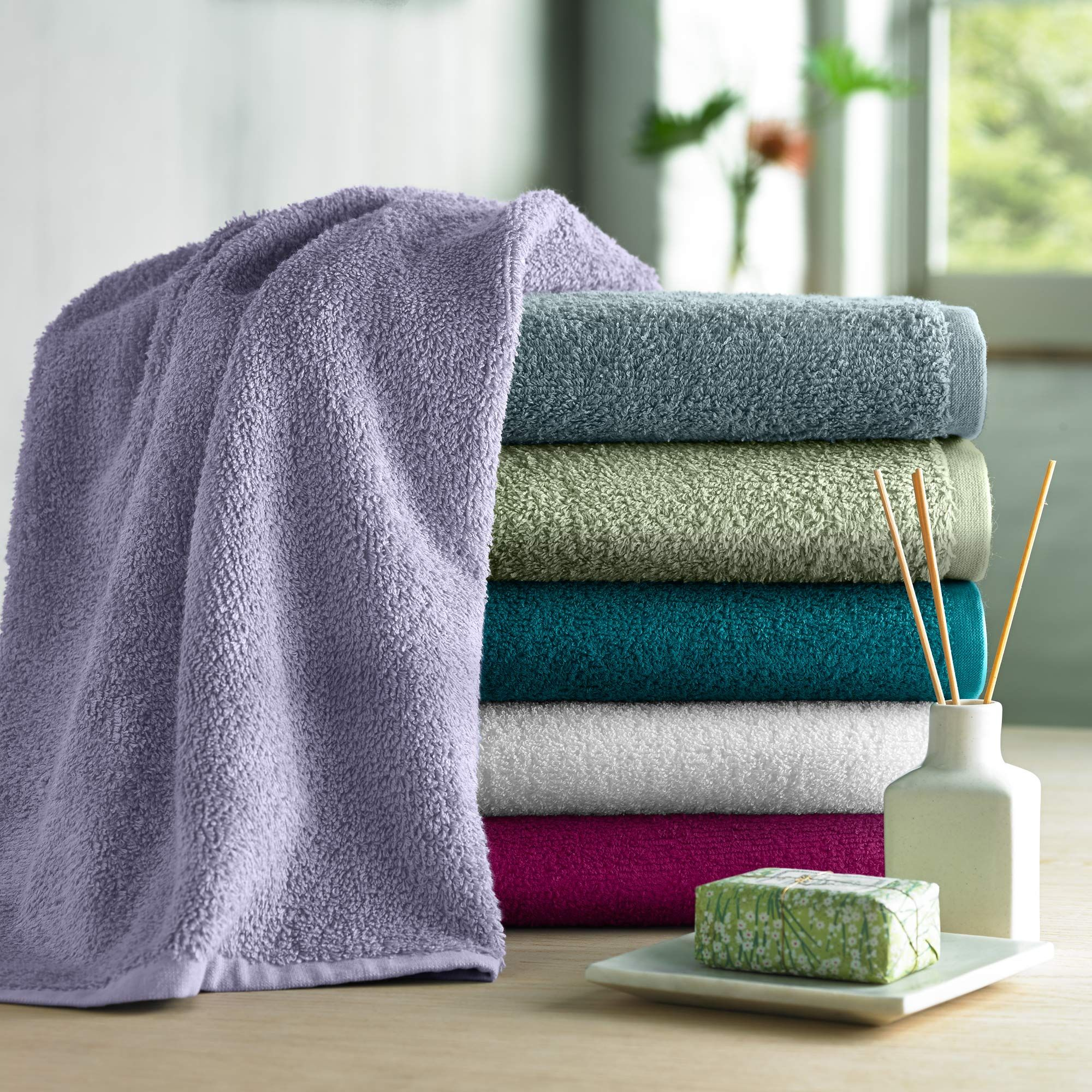 Under the Canopy GOTS certified organic cotton spa hair u0026 bath towels. $19.99  & Under the Canopy GOTS certified organic cotton spa hair u0026 bath ...