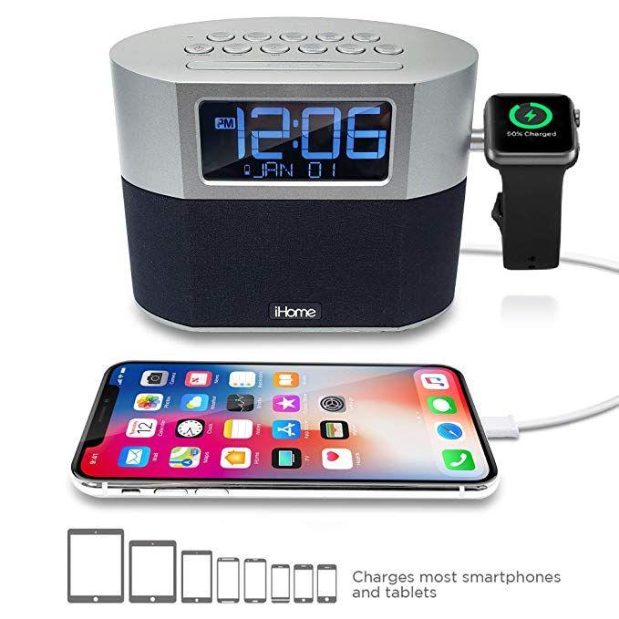 iHome iWBT400 Bluetooth Dual Alarm FM Clock
