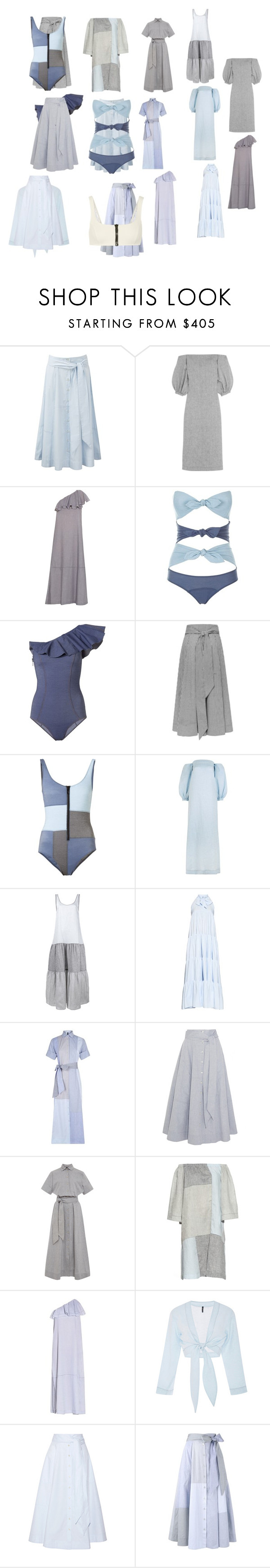 """""""Untitled #3587"""" by luciana-boneca on Polyvore featuring Lisa Marie Fernandez"""
