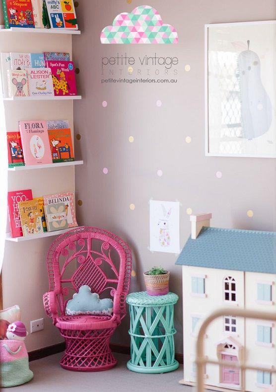Decorar habitaci n ni a decoraci n infantil vintage - Decoracion habitacion infantil nina ...