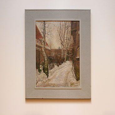 Hollands schilderij H.P.Bremmer