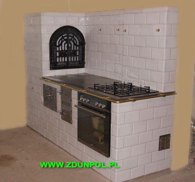 Galeria Realizacji Firmy Zdunpol Kominki Piece Grille Kuchnie Kaflowe Kitchen Stove Cottage Kitchen Outdoor Kitchen