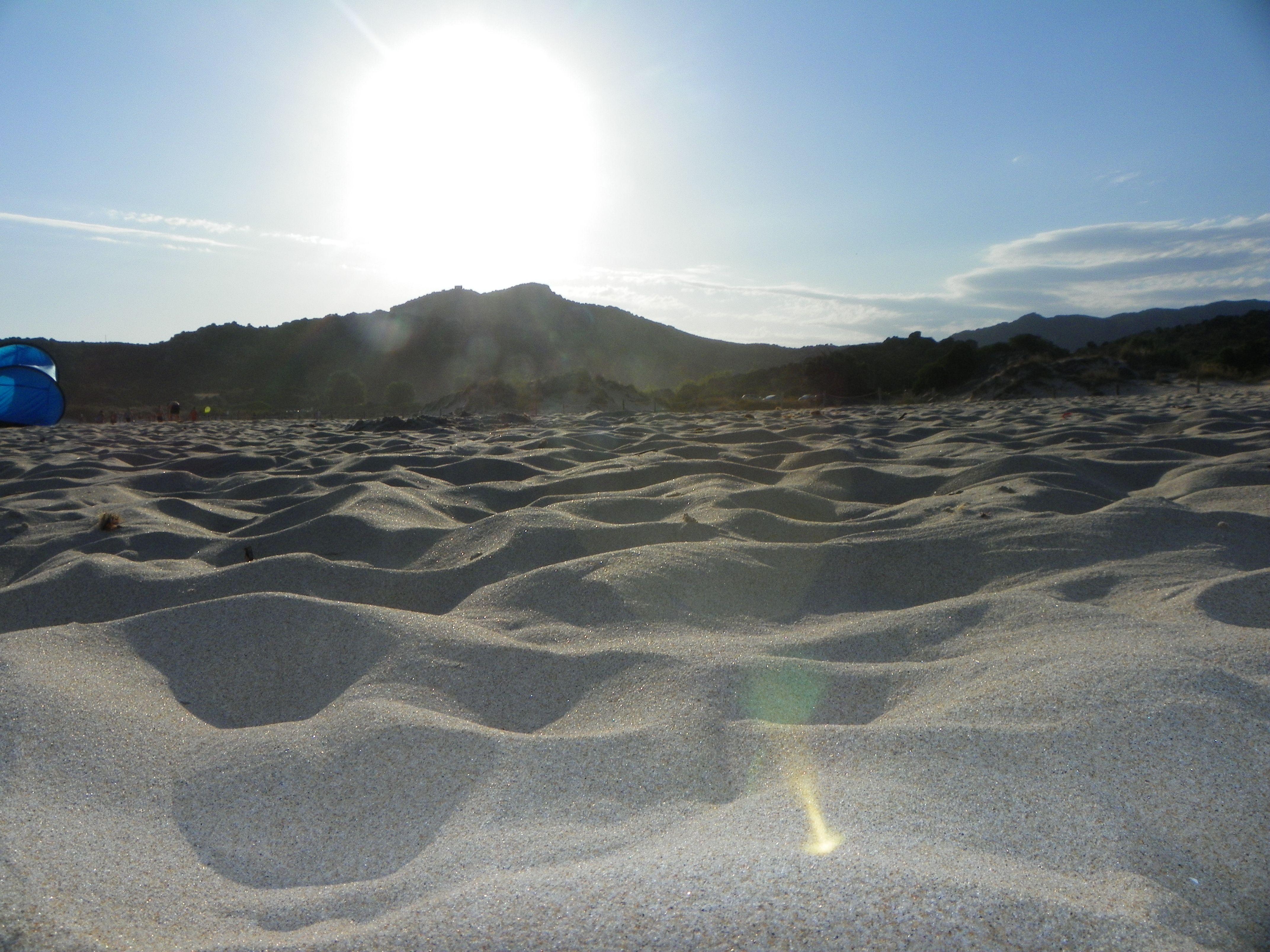 La meravigliosa sabbia di Capo Spartivento (CHIA)