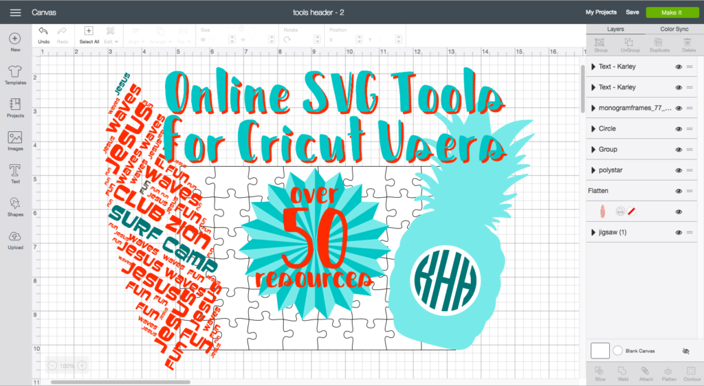 SVG Tools for Cricut Users Svg, Monogram generator, Cricut