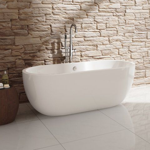 1555Mm Small Melissa Freestanding Bath  Freestanding Bath Bath Entrancing Small Bathroom Freestanding Bath 2018