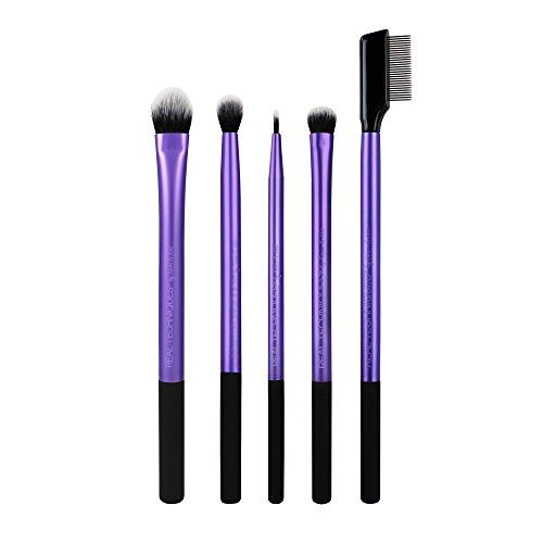 Real Techniques Professional Eyeshadow Blending Makeup Brush Set, Set of 5