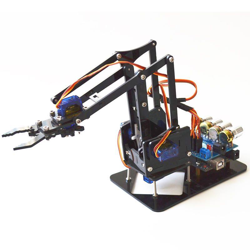 ABB 6 Axis Robot Mechanical Arm Robotics Arm Rack with Servos /& UNO R3 Assembled