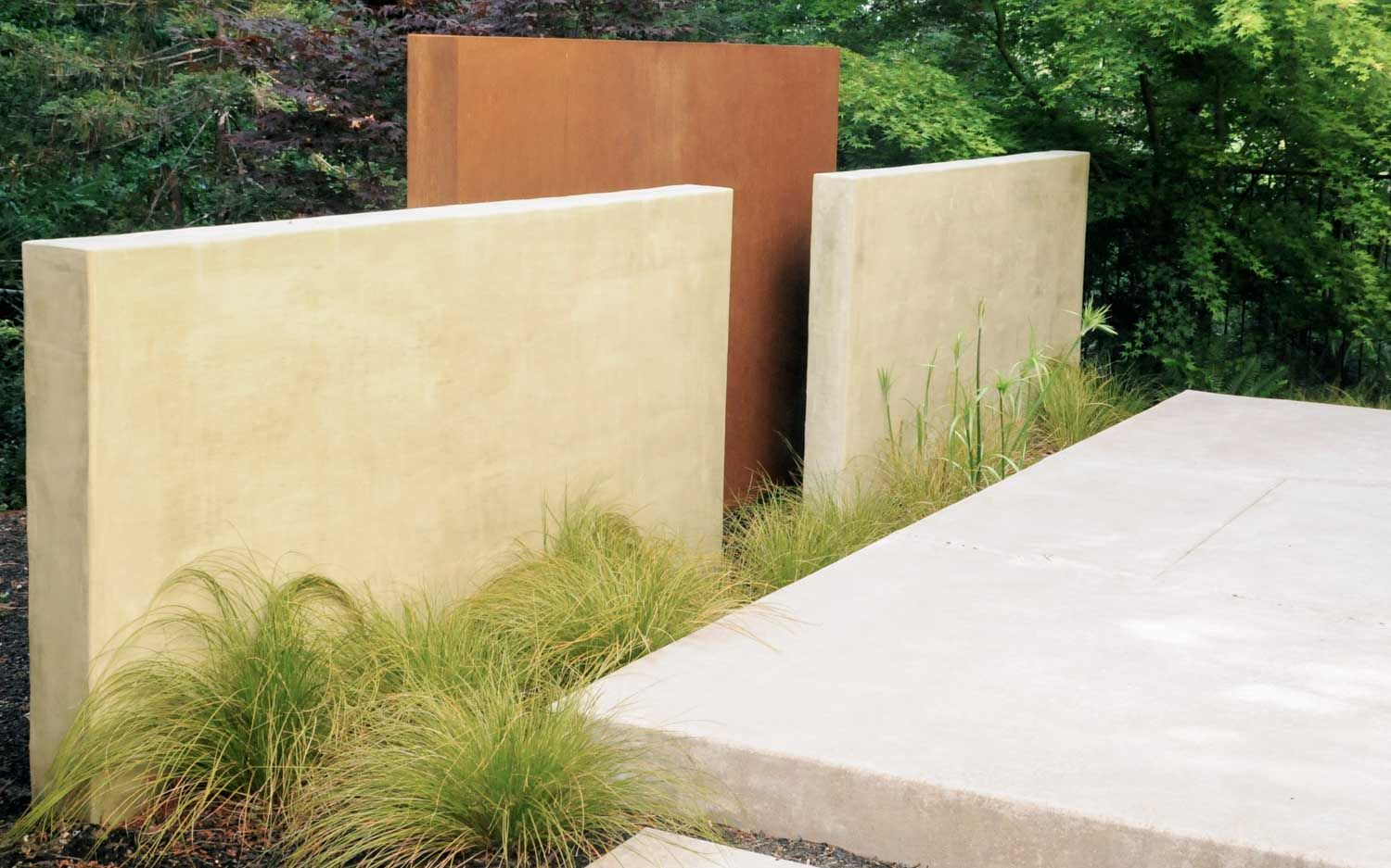 The landscape master plan was tailored to provide a space to ...