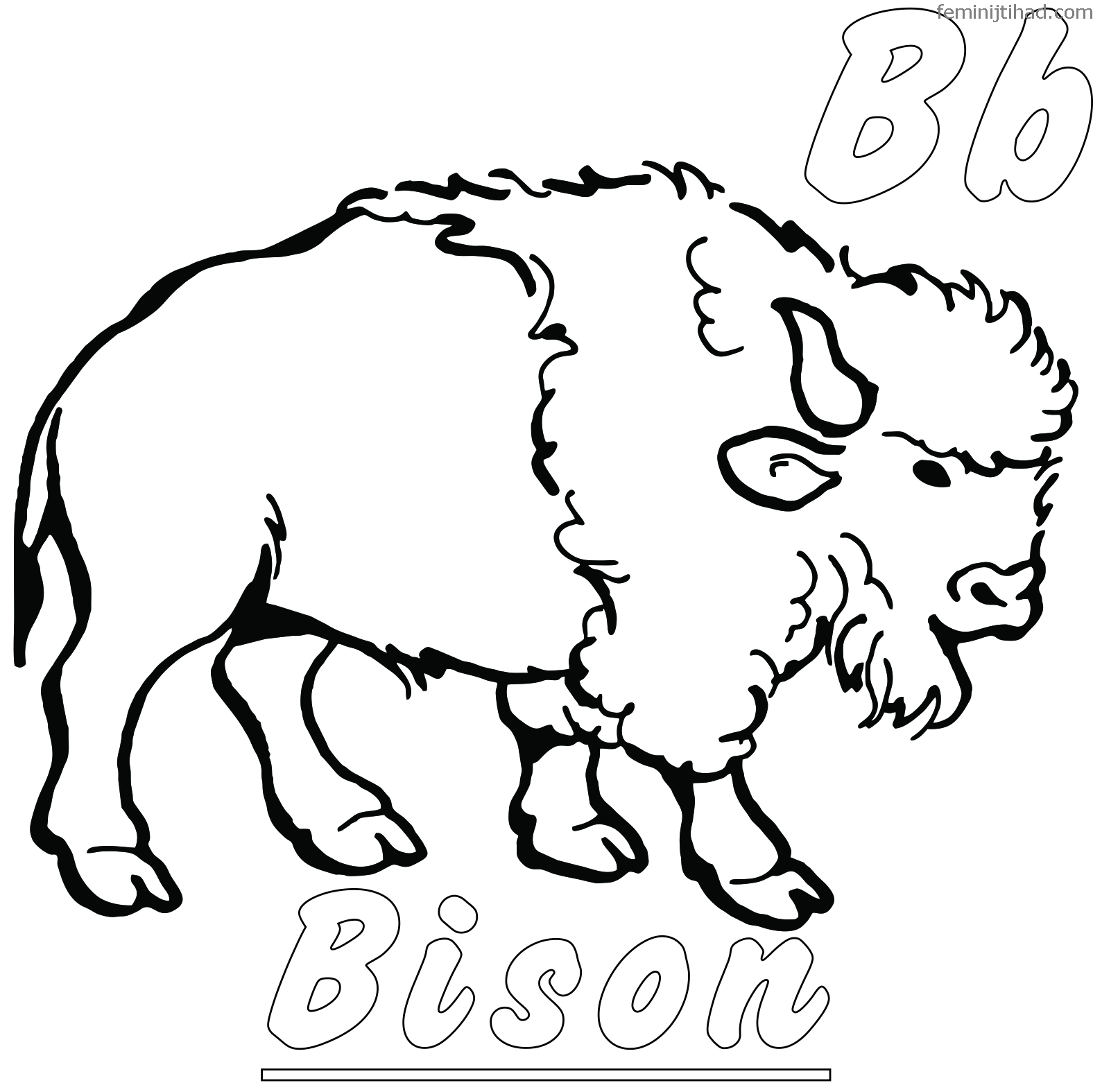Bison Coloring Pages Printable For Free Free Coloring Sheets Animal Coloring Pages Coloring Pages Buffalo Pictures