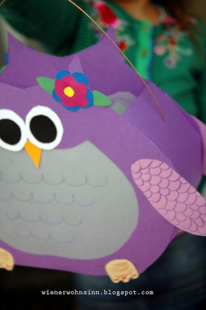 Wiener wohnsinn diy owl latern diy eulenlaterne crafting ideas - Wiener wohnsinn ...