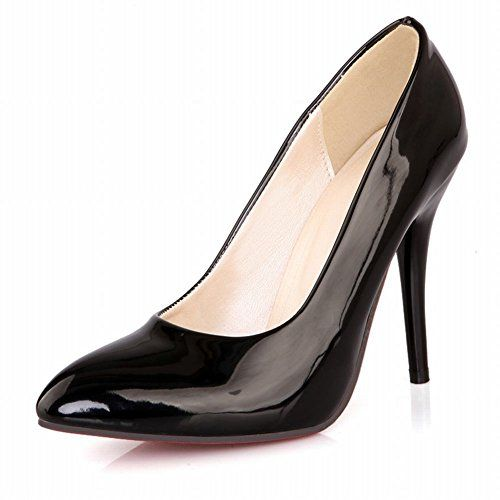 cool Carol Shoes Sexy Women's Elegance Red Sole Cuff Pointed-toe High Heel Pumps Dress Shoes