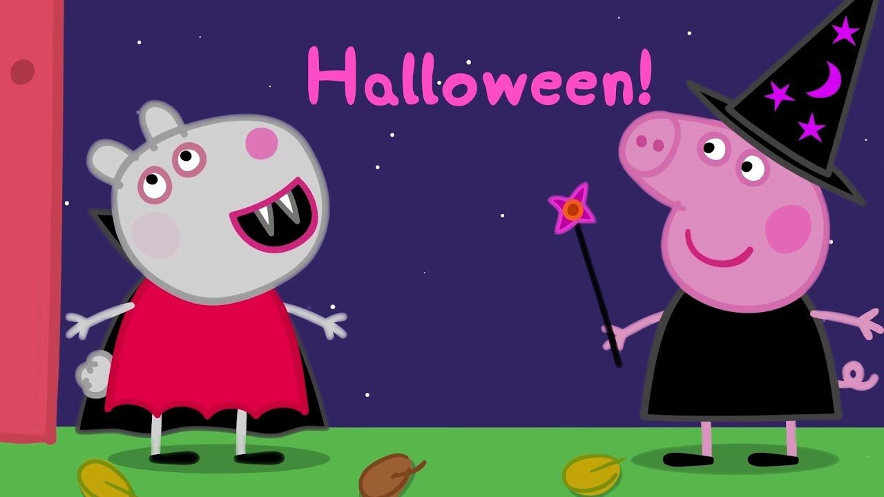 Peppa Pig Français Halloween Compilation Dessins
