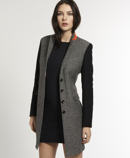 ce2e83842c002 Love this coat .. Superdry Town Coat - Womens Timothy Everest for ...