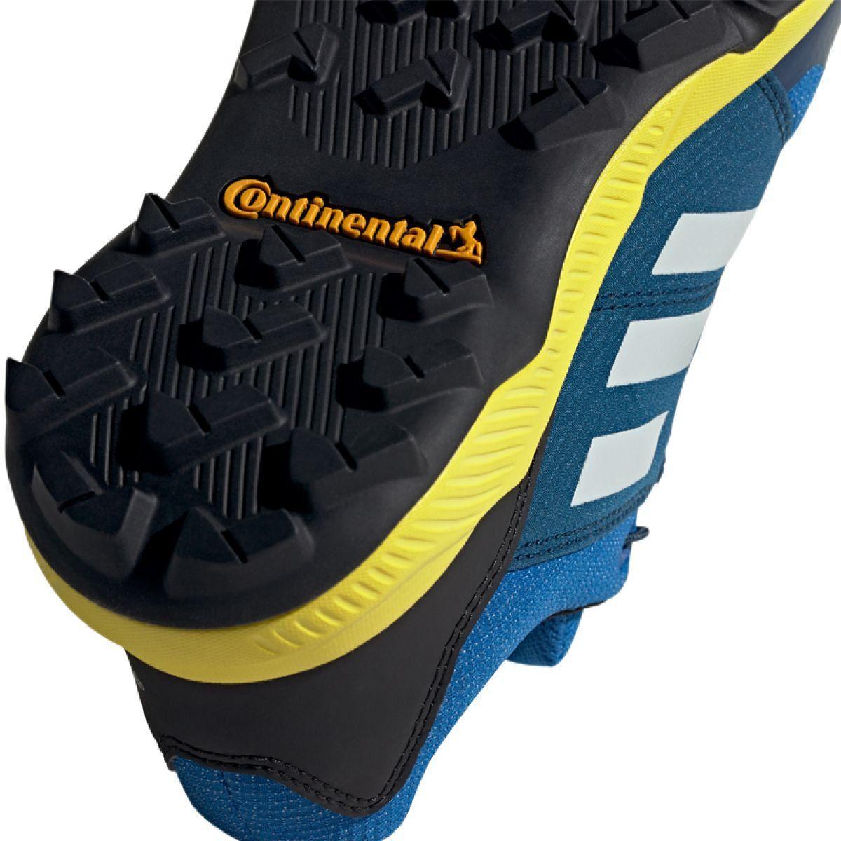 Buty Adidas Terrex Gtx Jr Bc0599 Niebieskie Junior Shoes Blue Shoes Durable Shoes