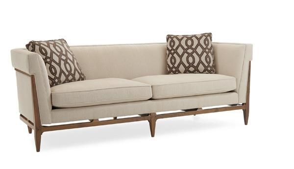 Caracole Modern Craftsman Bigelow Sofa Discount Furniture At Hickory Park  Furniture Galleries