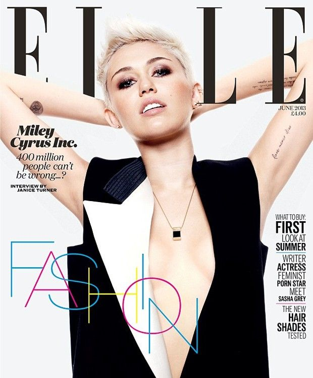 Miley Cyrus for ELLE